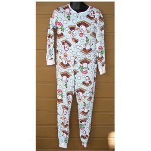 SECRET TREASURES Union Suit/One piece Pajamas, S